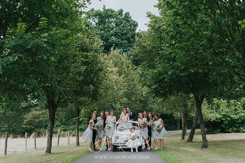Delightful Wasing Park Walled Garden wedding