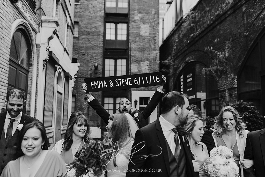 Dinerama Wedding photography